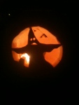Glowing Jack-o-lantern Ghost